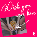 Wish You Were Here Gift Card