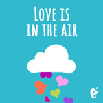 Love Is In the Air Valentine Gift Card