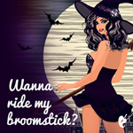 Wanna Ride My Broomstick Gift Card