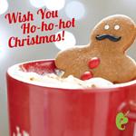 Wish You Hot Christmas Gift Card