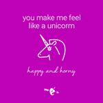 You Make Me Feel Like a Unicorn Gift Card