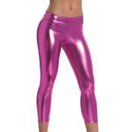 Magenta metallic leggings reviews