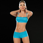 Turquoise lace panty and bra set reviews