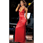 Red long gown reviews