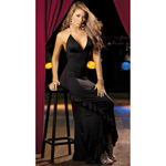 Black long gown reviews
