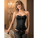 Midnight zip-front corset reviews