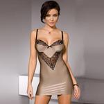Nude affair chemise set