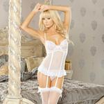 Honeymoon babydoll with garter set reviews
