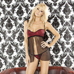 Bedroom bordello ruffle babydoll and G-string reviews