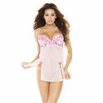 Pink low back babydoll reviews