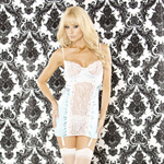 Vintage doll garter chemise & g-string reviews