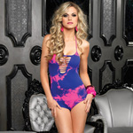 Seamless neon tie dye teddy reviews