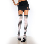 Striped thigh high socks reviews