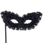 Ruffle masquerade mask reviews