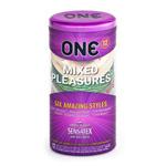 Mixed pleasures condom 12 pack