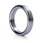 Groove stainless steel cock ring reviews