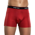 Red knit silk panel short reviews