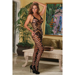 Club Seamless crotchless catsuit