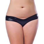 Wet look tanga panties queen size reviews