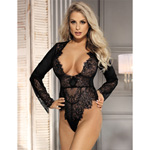 Lace long sleeve teddy reviews
