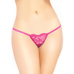 Lace low rise G-string