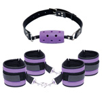 Fetish fantasy purple pleasure set reviews