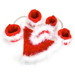 Xmas plush cuff set reviews