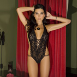 Lace halter teddy reviews