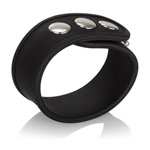 Silicone tri-snap erection ring