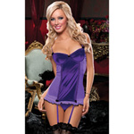 Purple Sophia chemise and thong reviews