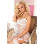 White babydoll and thong reviews