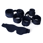 cuffs and blindfold set