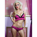 Show stopper ruffle bra set reviews