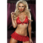 Scarlet bra, skirt and g-string reviews