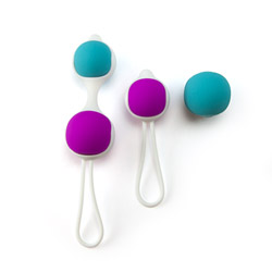Kegel trainer set - vaginal balls