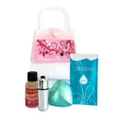 Pleasure me purse kit - sensual kit