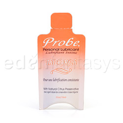 Probe Thick and rich - lubricant