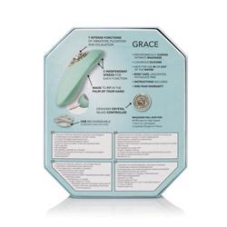 Luxury clitoral vibrator - Pave Grace - view #10