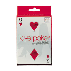 Adult game - Love poker game - view #1