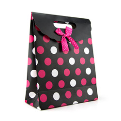 Miscellaneous - Polka dot gift tote medium - view #1