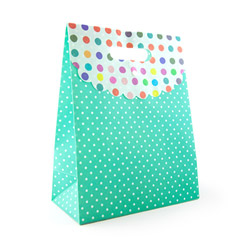 Miscellaneous - Polka dot gift tote large - view #1