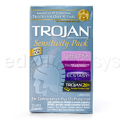 Trojan sensitivity pack - male condom