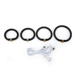 E-stim cock ring - ePlay cock rings set - view #1