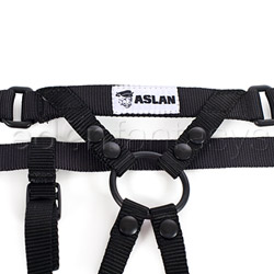 Simple vegan harness - double strap harness
