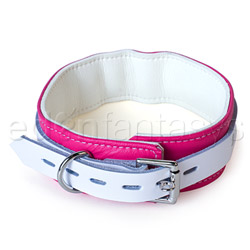 Collar  - Pink candy jaguar collar - view #3
