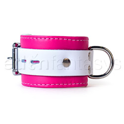 Wrist cuffs - Pink candy jaguar cuffs - view #3