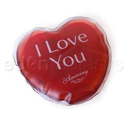 Hot heart massager I love you - warming massager