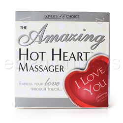 Warming massager - Hot heart massager I love you - view #3