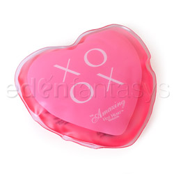 Hot heart massager XOXO - warming massager