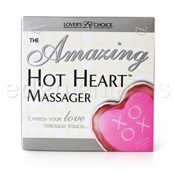Warming massager - Hot heart massager XOXO - view #3